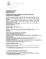 4 novembre 2011 conseil plénier