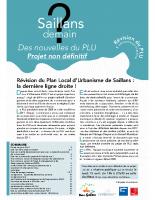 """Lettre 23 – Encart """"Des nouvelles du PLU"""""""