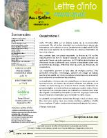Lettre d'info n° 19 – printemps 2018