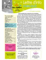 Lettre d'info n° 25 – hiver 2019