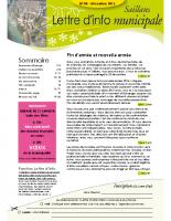 Lettre d'info n° 8 – décembre 2015
