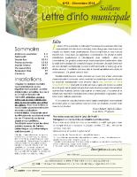 Lettre d'info n°3 – décembre 2014