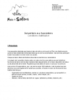 2020 Conditions d'attribution Subventions aux Associations