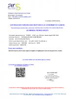 contrôle sanitaire des eaux 2020.10.12