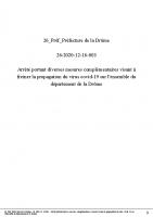 arrêté préfectoral 26-2020-12-16-003