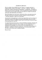 2021-02-09 Actualité du patrimoine texte de Maurice yendt