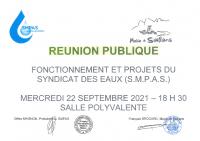 Réunion publique SAILLANS-SMPAS